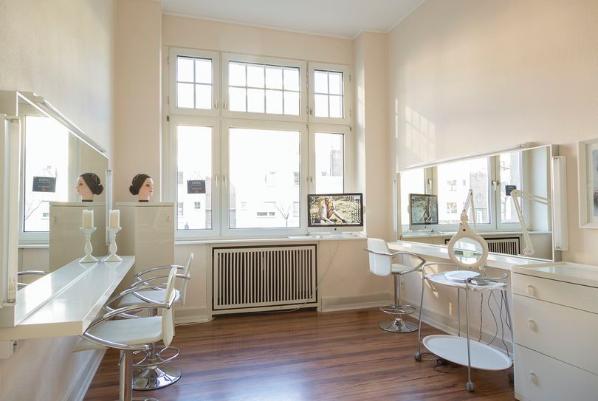 Unsere Räumlichkeiten BEFEIN Visagistin Ausbildung, Make-up Artist Weiterbildung